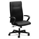 Hon Ignition Series Executive High-Back Chair, Black Fabric Upholstery