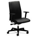 Hon Ignition Series Swivel Task Chair, Black Fabric