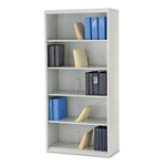 "Hon 600 Series File Shelf, 36"", 6 Shelves, Gray"