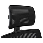 "Hon Adjustable Mesh Headrest, 11-1/2"" x 4"" x 11-3/4"", Black"