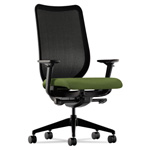 Hon Nucleus Series Swivel Task Chair, Clover Green/Black