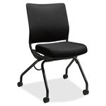 "Hon Armless Nesting Chair, 26""x26""x36"", Black"