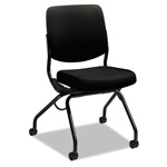 "Hon Armless Nesting Chair, 26""x36""x26"", Black"