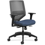Hon Solve Series ReActiv Back Task Chair, Midnight/Charcoal