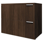 "Hon Voi Two-Drawer Lateral File, 36""x20""x29 1/2"", Columbian Walnut"