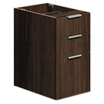 "Hon Voi Box/Box/File Support Pedestal, 16""x20""x28 1/2"", Columbian Walnut"