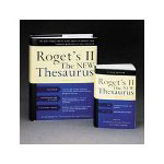 Houghton Mifflin Roget's II: The New Thesaurus, Third Edition, Paperback, 4 1/4 x 6 7/8