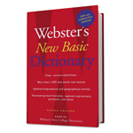 Webster's® New Basic Dictionary, Office Edition, Paperback, 896 Pages