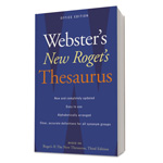 Webster's® New Roget's Thesaurus Office Edition, Paperback, 544 Pages