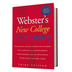 Webster's® II New College Dictionary, Hardcover, 1536 Pages