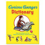 Houghton Mifflin Curious George's Dictionary, 8 1/2 x 10 7/8, Hardcover, Pre K-1