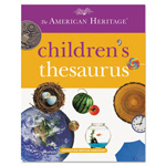 Houghton Mifflin American Heritage Children's Thesaurus, Hardcover