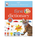 Houghton Mifflin American Heritage First Dictionary, Grades K-3, Hardcover