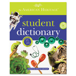Houghton Mifflin American Heritage Student Dictionary, Hardcover