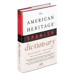 Houghton Mifflin American Heritage Spanish Dictionary, Hardcover, 1,152 Pages