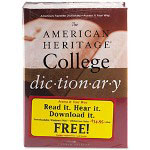 American Heritage® College Dictionary, Hardcover, 1664 Pages