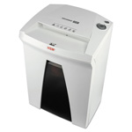 HSM SECURIO B24L6 Medium-Duty High-Security Cross-Cut Shredder, 5 Sheet Capacity