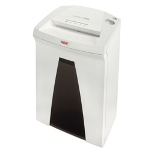 HSM HSM of America SECURIO B24C Crosscut Office Shredder, White/Black