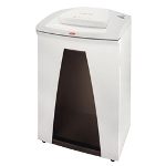 HSM HSM of America SECURIO B34C Office Crosscut Shredder, White/Black