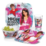 4 piece High School Musical Complete Dinner Set by ZAK