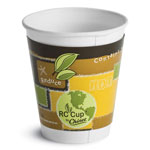 Huhtamaki Insulated Hot Cups, 12 oz, White, 645/Carton