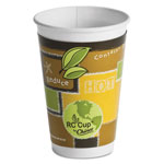 Chinet Insulated Hot Cups, Paper, 16 Oz, Multi-Color, 33/bag, 15 Bags/carton