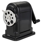 Hunt Ranger 55 Table or Wall Mount Heavy Duty Pencil Sharpener, Black