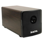 X-Acto Heavy Duty Electric Pencil Sharpener, Walnut Grain