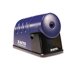 Hunt Electric Pencil Sharpener, Translucent Blue