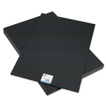 Hunt Foam Board, Black Surface with Black Core, 20 x 30, 10 Boards/Carton