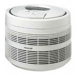 Honeywell Air Purifier, HEPA Filter, 21 4/5'x21 4/5' Room Cap, White