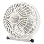 "Honeywell Chillout USB/AC Adapter Personal Fan, White, 6""Diameter, 1 Speed"