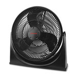 "Honeywell Floor Fan, Turbo Force, 3-Speed, 18"" Blade, Black"