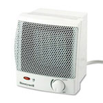 "Honeywell HZ315 Quick Heat Ceramic Heater with Infinite Heat Settings, 6 1/2""w x 6 1/4""d x 7 1/4""h"