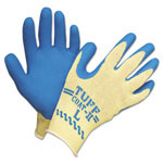 Sperian Tuff-Coat II Gloves, Blue/White, Large, Pair