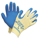 Honeywell Tuff-Coat II Gloves, Blue/White, Large, Dozen