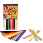 Hygloss Glossy Chain Strips, 100/PK, Ast