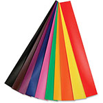 Hygloss Glossy Chain Strips, Large/Gummed, 144/PK, Ast