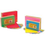 "Hygloss Bright Blank Cards, 3"" x 5"", 72/PK, Ast"