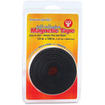 "Hygloss Magnetic Tape, Self-Adhesive, 1/2"" x 120"", Black"