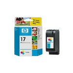 HP 17 Print Cartrid1 x Yellow, Cyan, Magenta 430 Pages