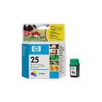 HP 51625A 25 Print Cartrid1 x Yellow, Cyan, Magenta 167 Pages
