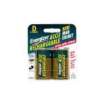 Energizer Nh 50bp-2 Battery D Nimh X 2