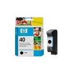HP 51640A 40 Print Cartrid1 x Black 1100 Pages