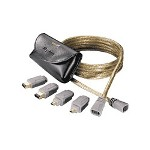 JDI JDI GoldX Quickconnect 3 In 1, IEEE 1394 Cable Kit, 6'