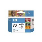 HP 70 Printhead 1 x Light Gray, Photo Black