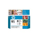 HP 91 - Printhead - 1 x Light Gray, Photo Black