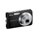 Nikon Coolpix S210 Digital Camera, Graphite