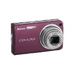 Nikon Coolpix S550 Digital Camera, Plum