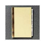 Avery Insertable Tab Dividers, 14 x 8 1/2, 4 Hole, 8 Clear Tabs/Set